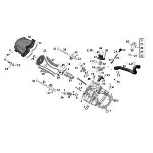 Головка переднего цилиндра (двигатель)
