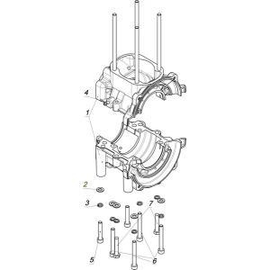 Картер двигателя K90500060