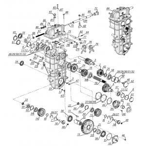 Коробка передач C40602950-05
