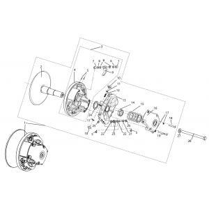 Регулятор центробежный C40601600