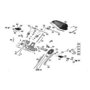 Головка заднего цилиндра (двигатель)