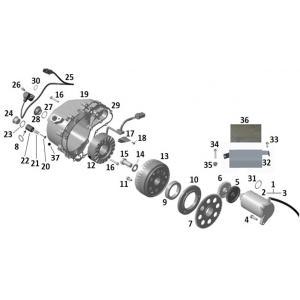 Магнето (двигатель с с ЭУР (EPS))