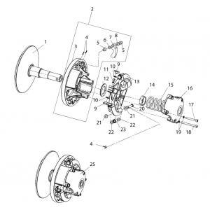 Регулятор центробежный 110606300